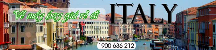 Đặt Mua Vé Máy Bay Giá Rẻ đi Italia